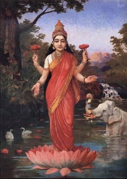 tn_Ravi_Varma-Lakshmi